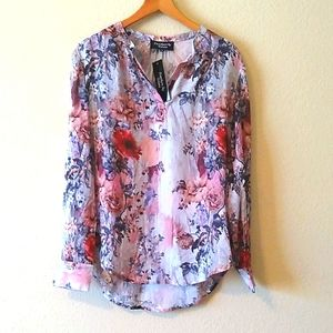 NEW Tolani floral top with tags